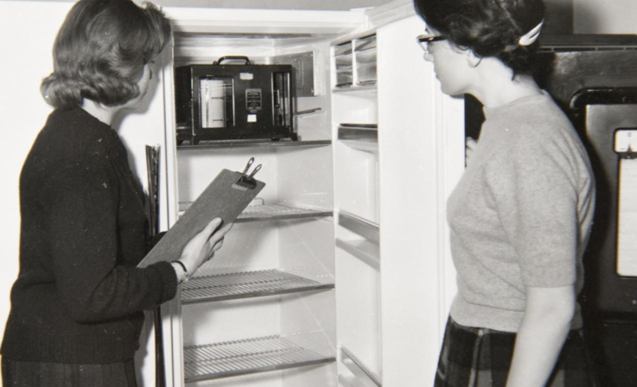 Chemistry professor A.L. Henne's studies led to the worldwide use of Freon in refrigeration and air-conditioning, making the refrigerator a daily household appliance.