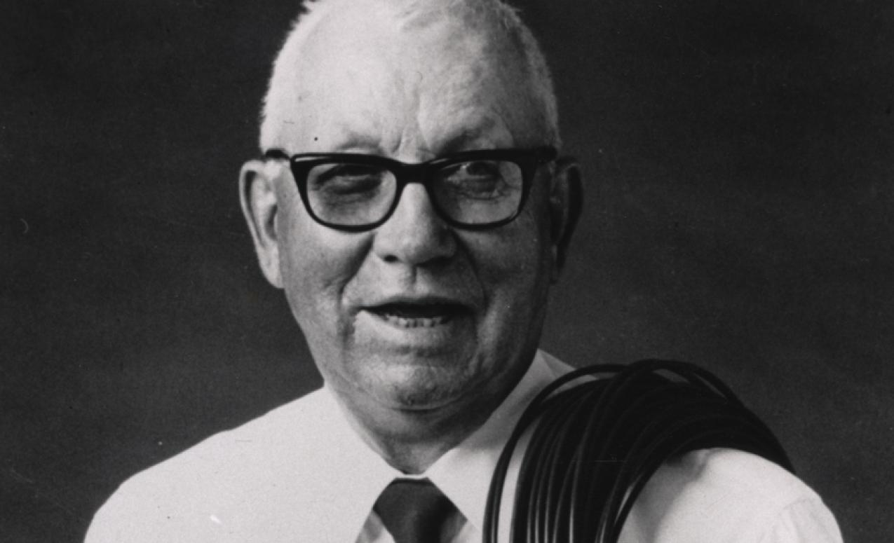 Image of Roy Plunkett from www.sciencehistory.org