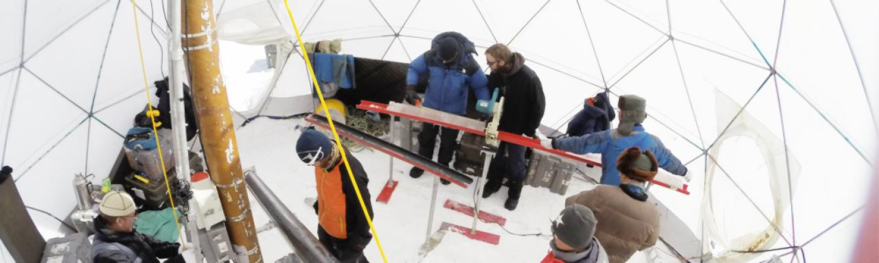 Ice Core Dilling, The Ohio State University