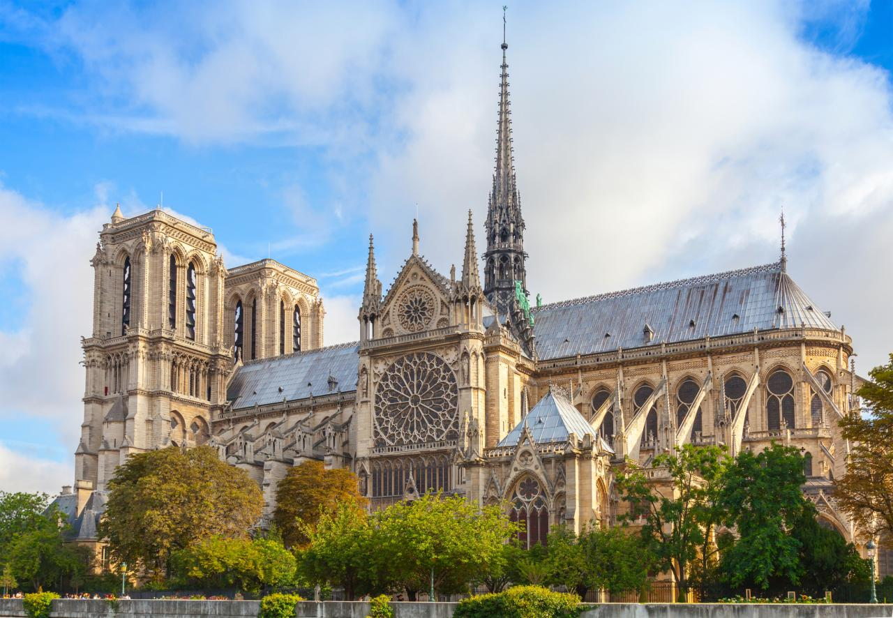 How will Notre Dame rebuild after the fire?