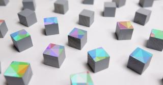 Gray cubes abstractly representing consciousness, The Ohio State University, Artificial Intelligence